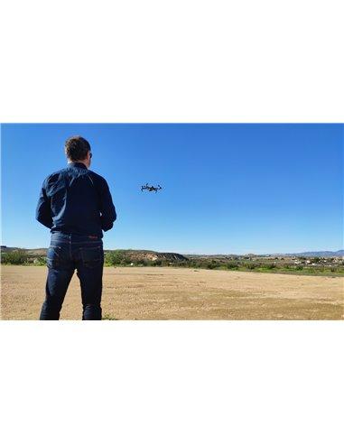 Curso piloto avanzado de drones Oficial 0-25 kilos